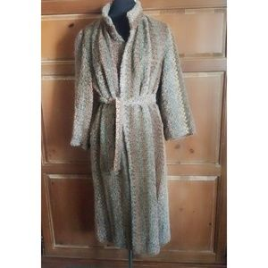MJ Seattle Mohair Lambswool Trenchcoat With Belt